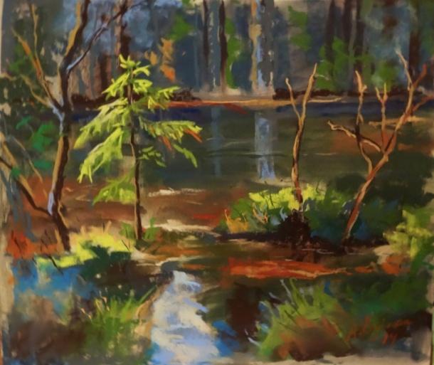 Annika Östmans målning