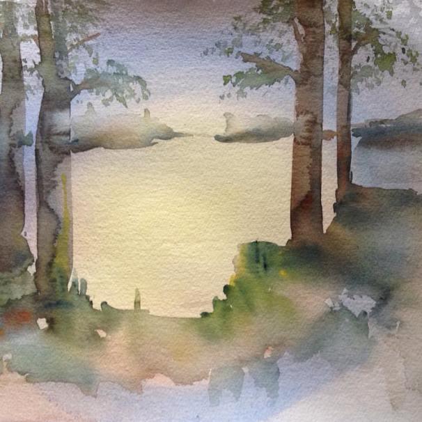Maija Minnin akvarellikurssi 2016